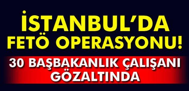 İstanbul'da operasyon: 30 gözaltı
