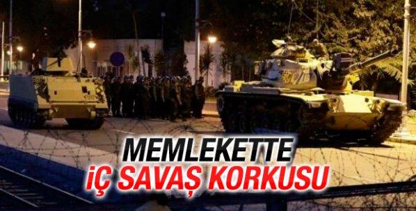 İstanbul ve Ankara'da askeri kalkışma iddiası