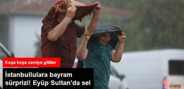 İstanbullular Bayrama Yağmurla Girdi