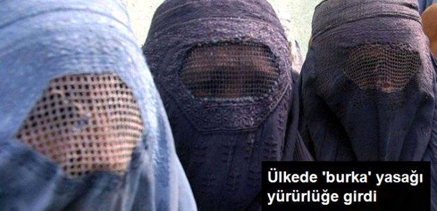 İsviçre'de Burka Yasağı Yürürlüğe Girdi