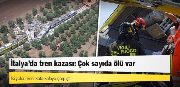 İtalya'da tren kazası: Çok sayıda ölü var