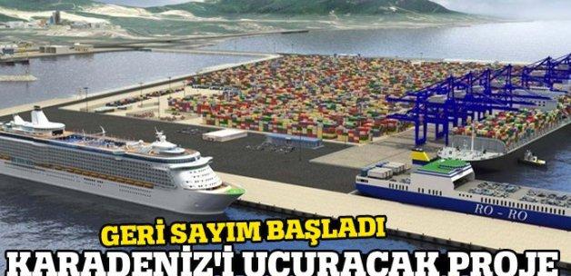 Karadeniz'i uçuracak proje