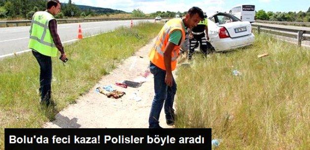 Kaza'da Kopan Parmağı Polis Buldu