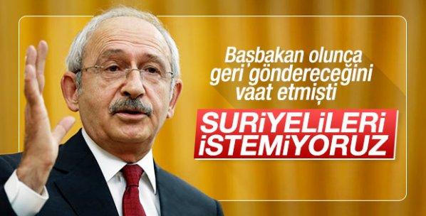 Kılıçdaroğlu Suriyelilere vatandaşlık verilmesine karşı