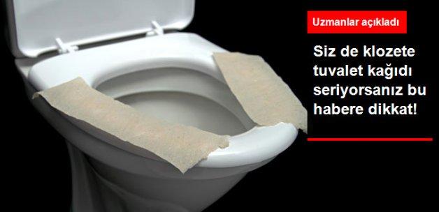 Klozete Tuvalet Kağıdı Seriyor musunuz?