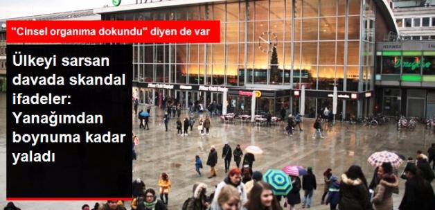 Köln'deki Toplu Taciz Davasında Skandal İfadeler: