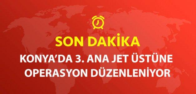 Konya'da 3. Ana Jet Üssü'ne Operasyon Düzenlendi