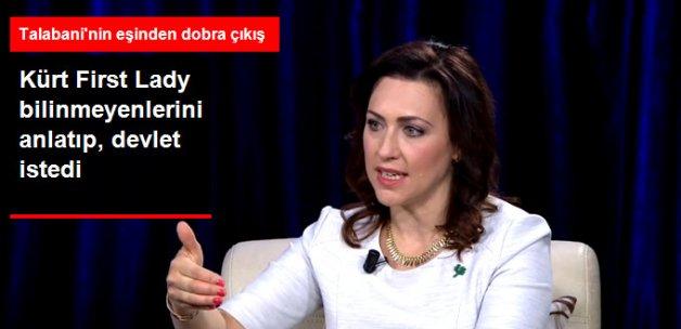 Kubad Talabani'nin Amerikalı Eşi Devlet İstedi