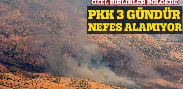 Küpeli ve Kilise dağlarında PKK'ya büyük operasyon