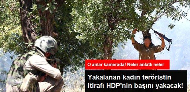 Lice'de Yakalanan Kadın Terörist: PKK'ya HDP İl Binasında Katıldım