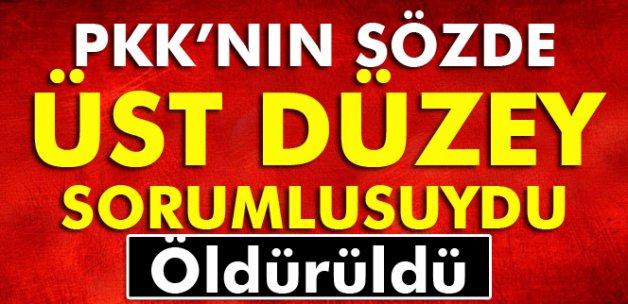 Lice'de PKK'nın sözde orta saha sorumlusu öldürüldü
