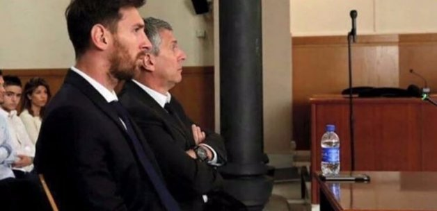Lionel Messi'ye 21 ay hapis cezası!