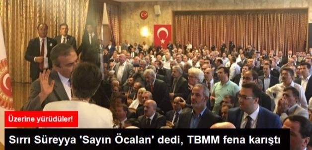 Meclis'te Darbe Gerginliği: Sırrı Süreyya Önder 'Sayın Öcalan' Dedi, Salon Karıştı