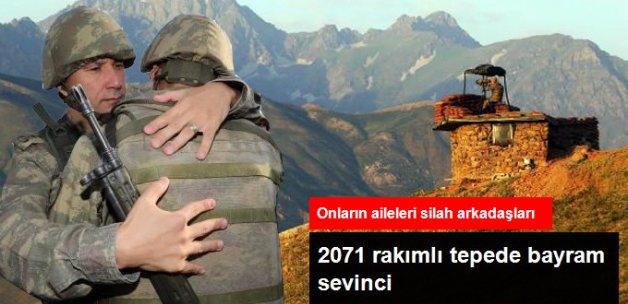 Mehmetçiğin, Gomane Tepe Kışlası'nda Bayram Sevinci