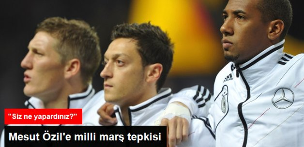 Mesut Özil'e Şebnem Schaefer'den Milli Marş Tepkisi