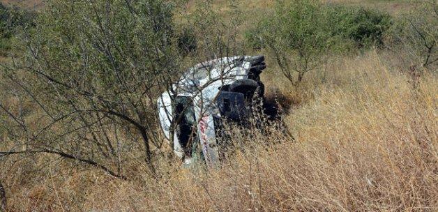 Minibüs şarampole uçtu: 19 yaralı