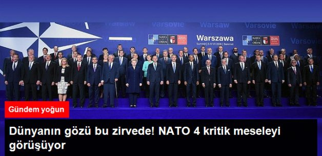 NATO Zirvesi'nde 4 Kritik Mesele Görüşülüyor