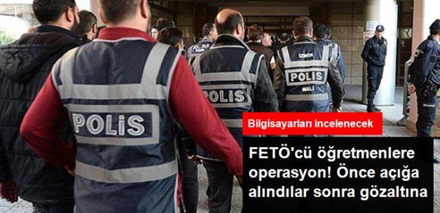 Niğde'de FETÖ'cü Olduğu Tespit Edilen 26 Öğretmen Gözaltına Alındı