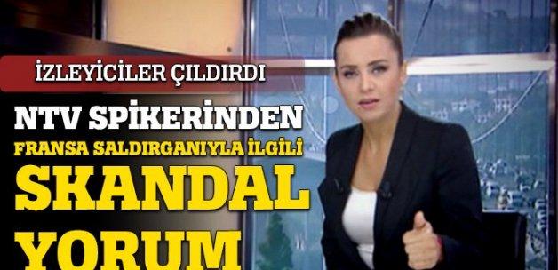 NTV spikerinden skandal ifade!
