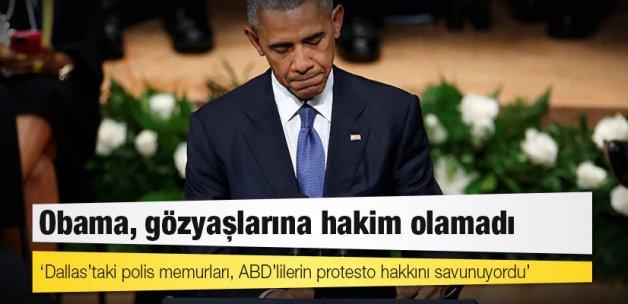 Obama, gözyaşlarına hakim olamadı