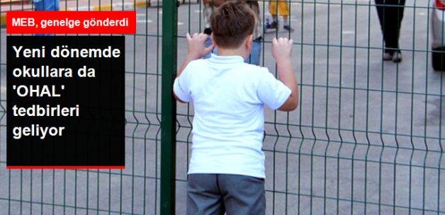 Okullara 'OHAL' Tedbirleri! Duvar ve Tel Örgü Geliyor