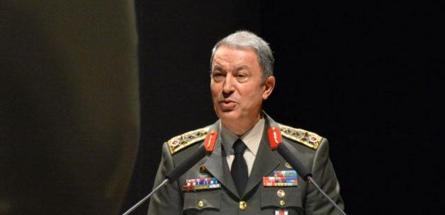 Orgeneral Akar, 8 şehit asker için taziye mesajı yayımladı