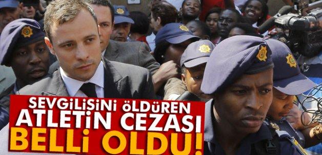 Oscar Pistorius'a 6 yıl hapis cezası verildi