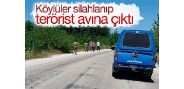 Osmaniye'de köylüler silahlanıp teröristlerin peşine düştü