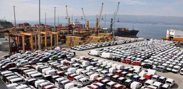 Otomotiv ihracatında 8 yılın zirvesi