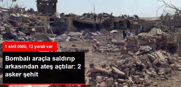 PKK Mardin'de Jandarma Karakoluna Saldırdı: 2 Asker Şehit, 1 Sivil Öldü, 12 Yaralı