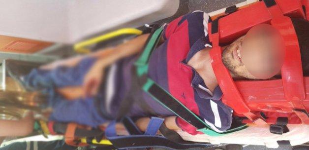 PKK adına haraç isteyen şahsı, kendi silahıyla yaraladı