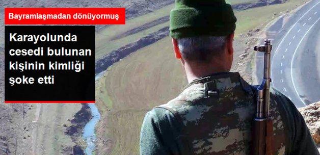 PKK'lılar Bayramlaşmadan Dönen Korucuyu Şehit Etti