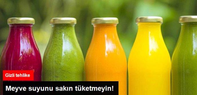 Prof. Dr. Bekir Sami Uyanık'tan o meyve suyularının kesinlikle tüketilmemesi gerektiğini açıkladı.