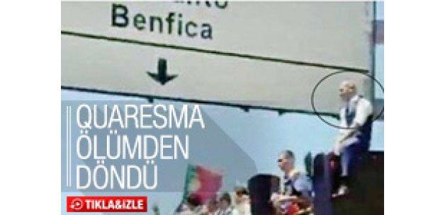 Ricardo Quaresma kazadan sıyrıldı