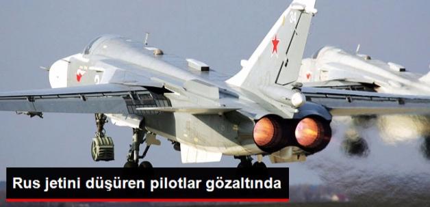 Rus Jetini Düşüren Pilotlar da Gözaltına Alındı