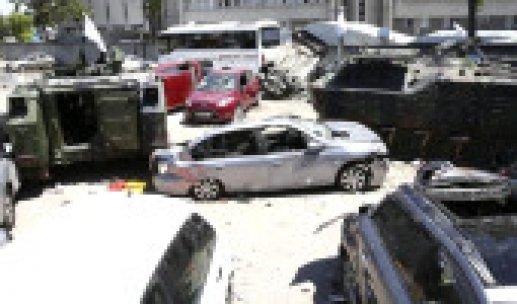 Saldırıya Uğrayan Ankara Emniyet Müdürlüğü Son Hali