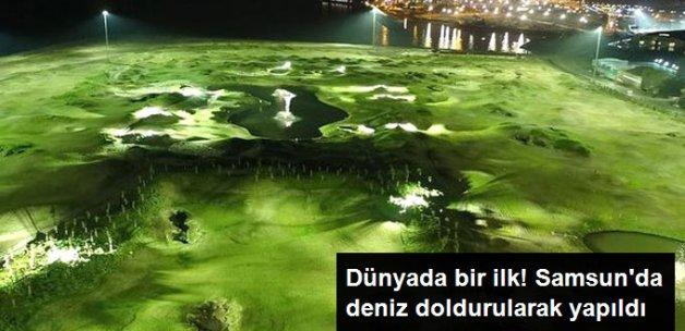Samsun'da Deniz Dolgusuna Yapılan Golf Sahasında Sona Gelindi