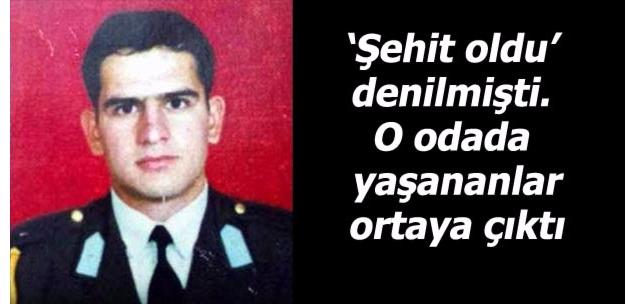Şehit olduğu iddia edilen emir subayı, darbeci çıktı