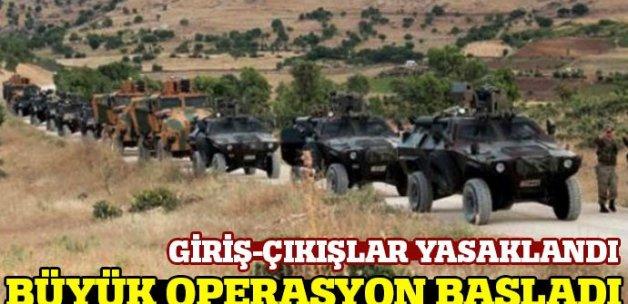 Şemdinli'de sokağa çıkma yasağı ilan edildi! PKK'ya operasyon başladı