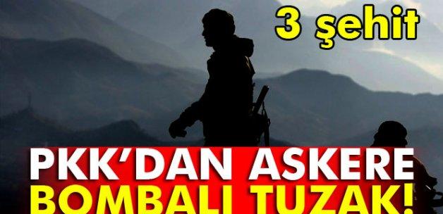 Siirt'te askere hain saldırı: 3 şehit