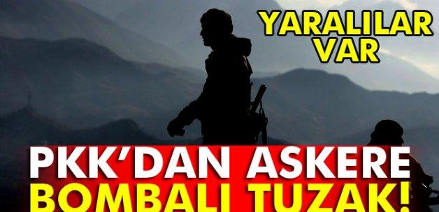 Siirt'te PKK'dan askere bombalı tuzak: Yaralılar var