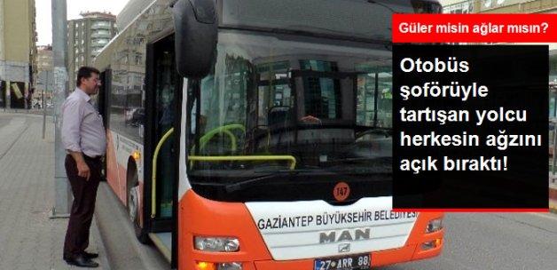 Şoförle Tartıştı Belediye Otobüsünün Anahtarını Çaldı