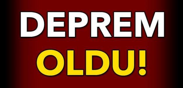 #SONDAKİKA #DEPREM OLDU!
