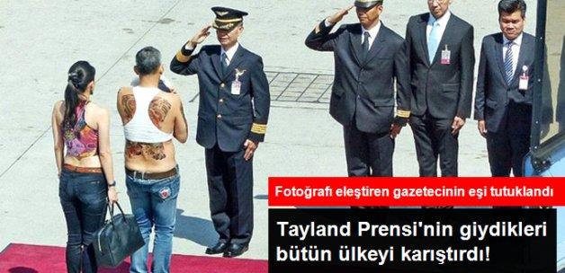 Tayland Prensi'nin Fotoğrafını Paylaşan Gazetecinin Karısı Tutuklandı