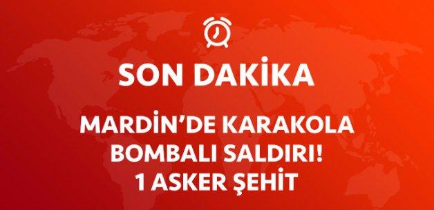 Teröristler Mardin'de Jandarma Karakolu'na Saldırdı: