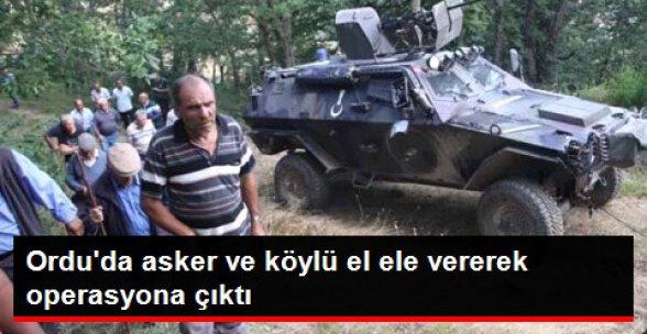 Teröristler Ordu'da Köylüden Ekmek İsteyerek Jandarmayı Pusuya Düşürdü!