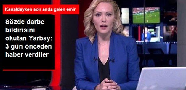 TRT'de Sözde Darbe Bildirisini Okutan Yarbay: Darbeyi 3 Gün Önceden Haber Verdiler
