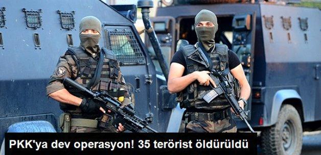 """Tsk: """"35 Terörist Etkisiz Hale Getirildi"""""""