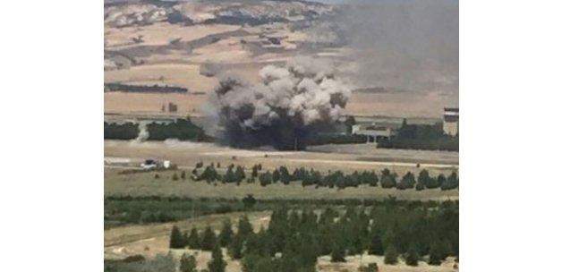 Türk jetleri Akıncı Üssü'nü bombaladı