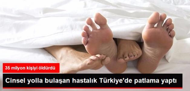 Türkiye'de AIDS Hastası Sayısı Giderek Artıyor